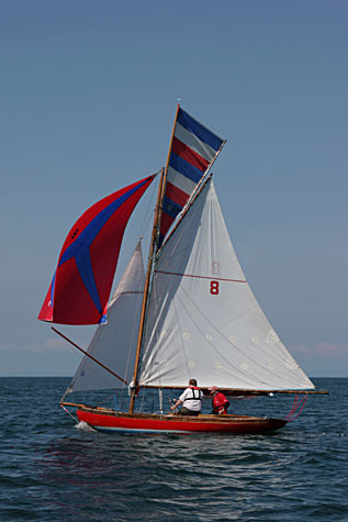 Bryan and Harriette Lynch's 100 year-old Howth 17 'Echo""