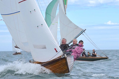 Howth Classic Boat Championships finishes in a blow