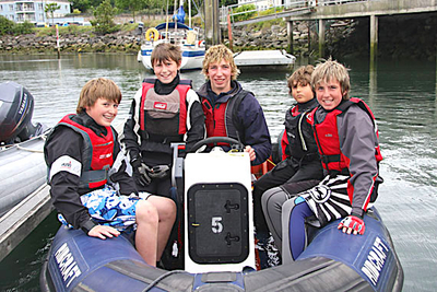 Opportunity for young sailors to become sailing instructors