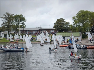 Optimist Connachts in Lough Ree