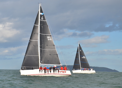 Winner's Enclosure Starts to fill at Howth's Autumn League